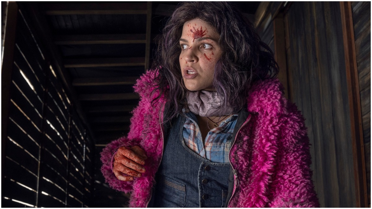 "Paola Lazaro stars as Juanita ""Princess"" Sanchez, as seen in Episode 20 of AMC's The Walking Dead Season 10C"