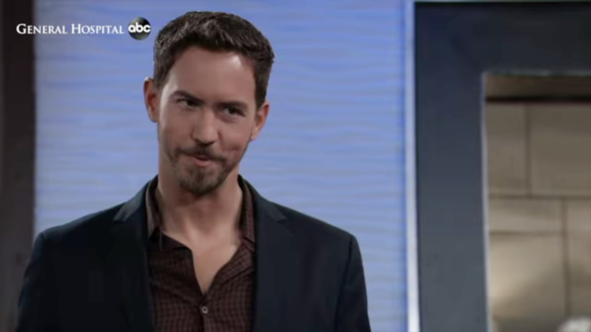 Wes Ramsey as Peter on General Hospital.
