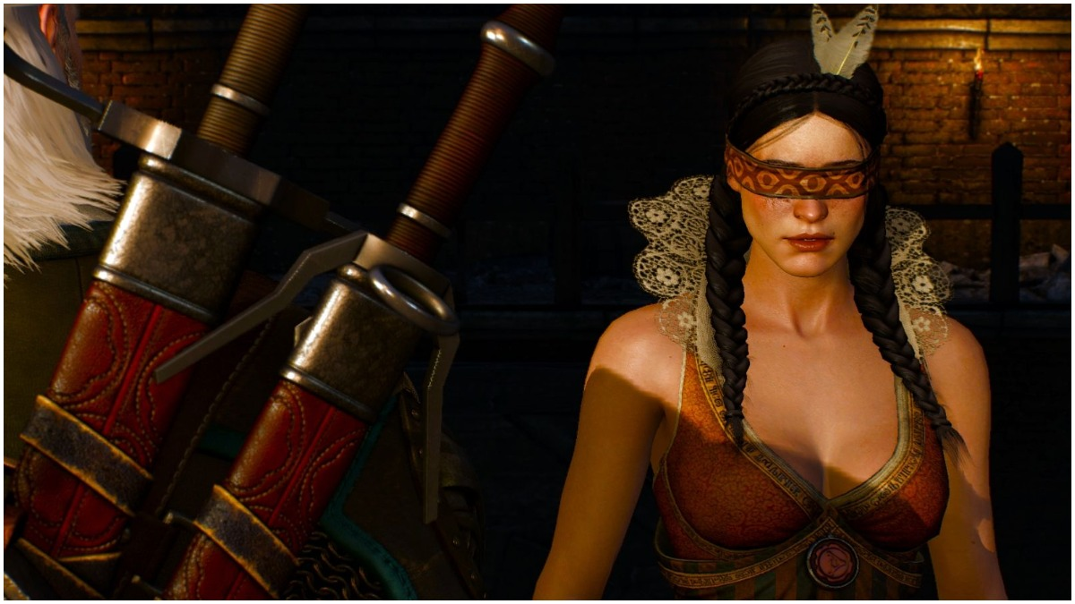 Philippa Eilhart, as portrayed in The Witcher 3: Hild Hunt game from CD Projekt Red