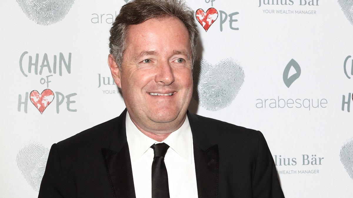 Former Good Morning Britain host Piers Morgan
