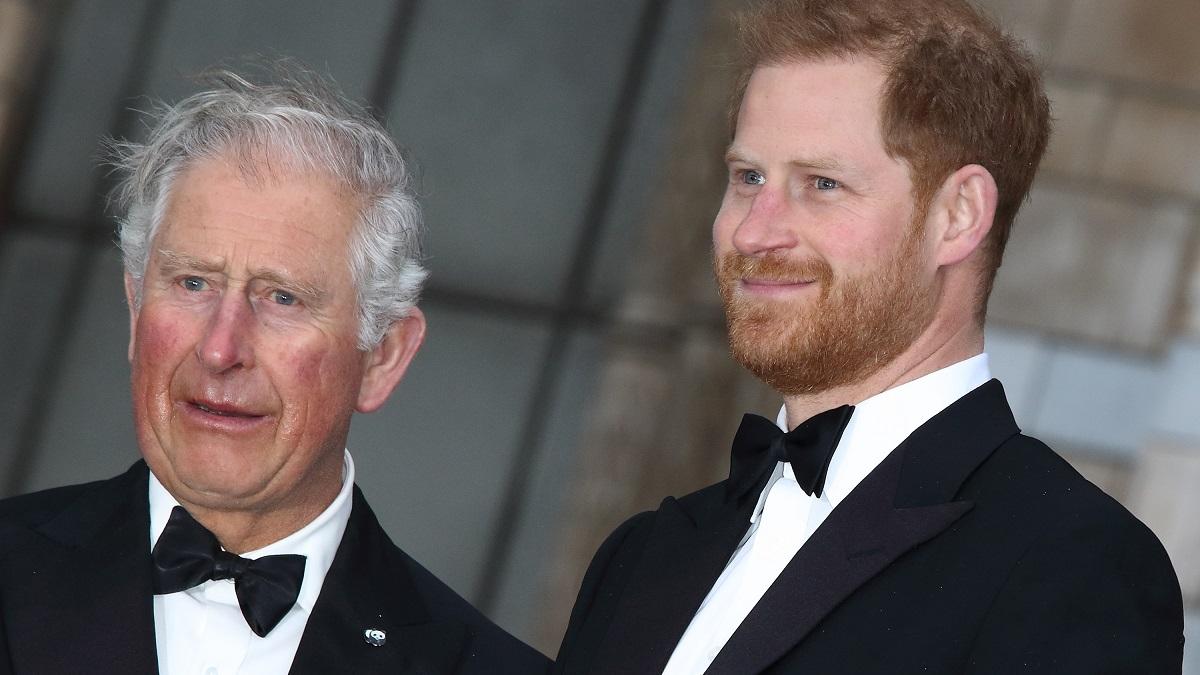 Prince Charles and Prince Harrry