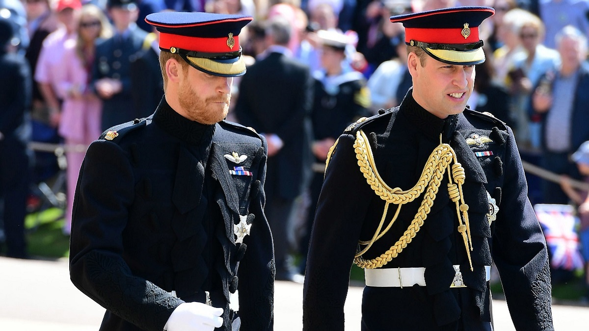 Prince William and Harry
