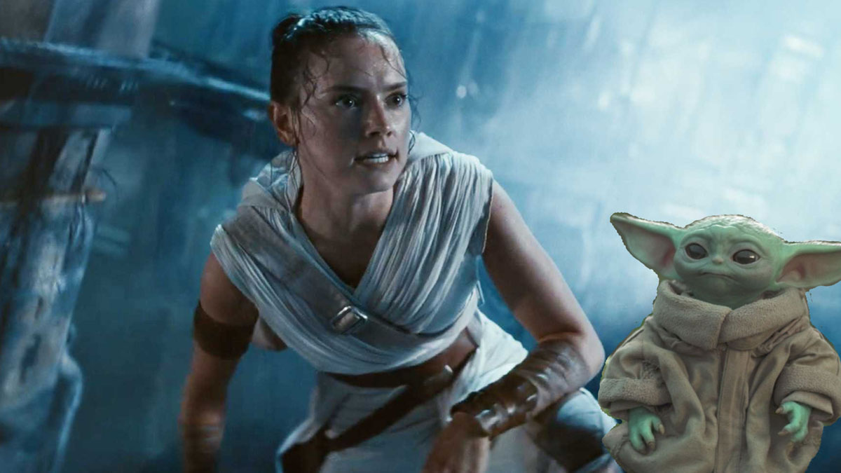 Star Wars star Daisy Ridley says Baby Yoda has an advantage over her.