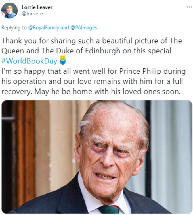 Royal fans thanks Family for picture