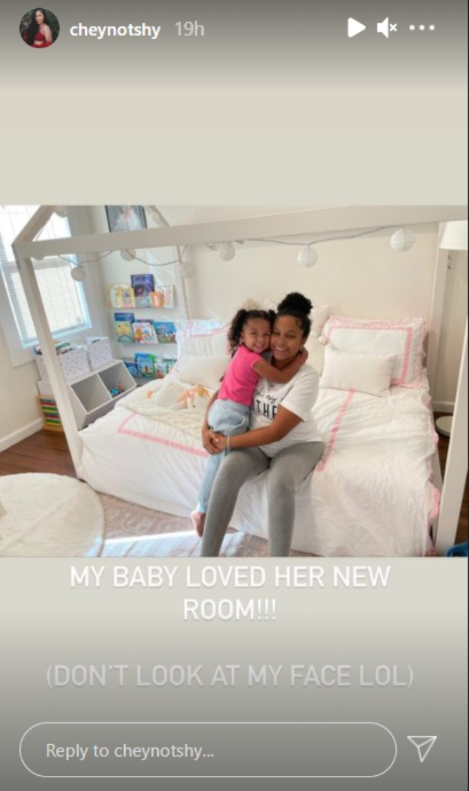 Cheyenne Floyd and Ryder Wharton of Teen Mom OG on Instagram stories