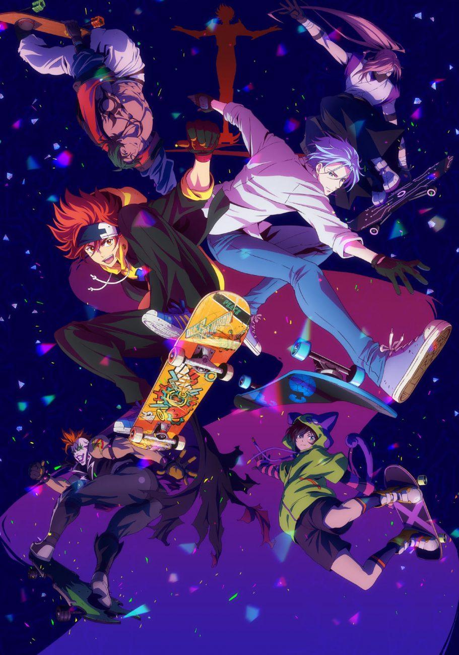Skateboard anime