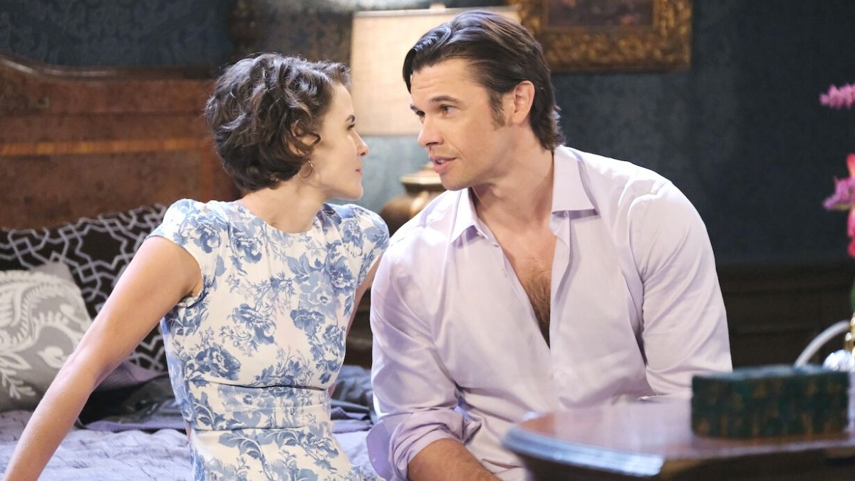 Days of our Lives spoilers tease Xander panics over Sarah at their wedding.