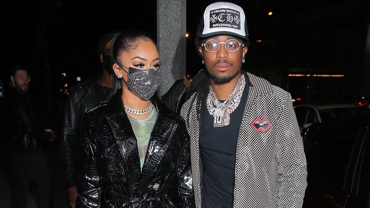Saweetie and rapper Quavo