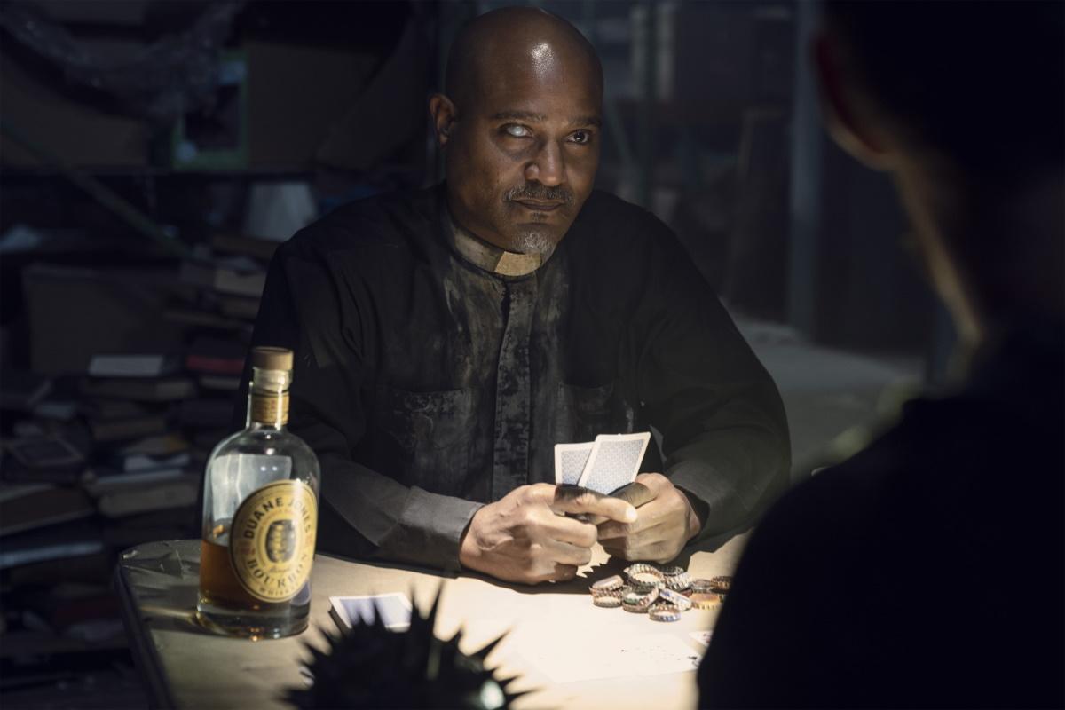 Seth Gilliam as Gabriel, as seen in Episode 19 of AMC's The Walking Dead Season 10C