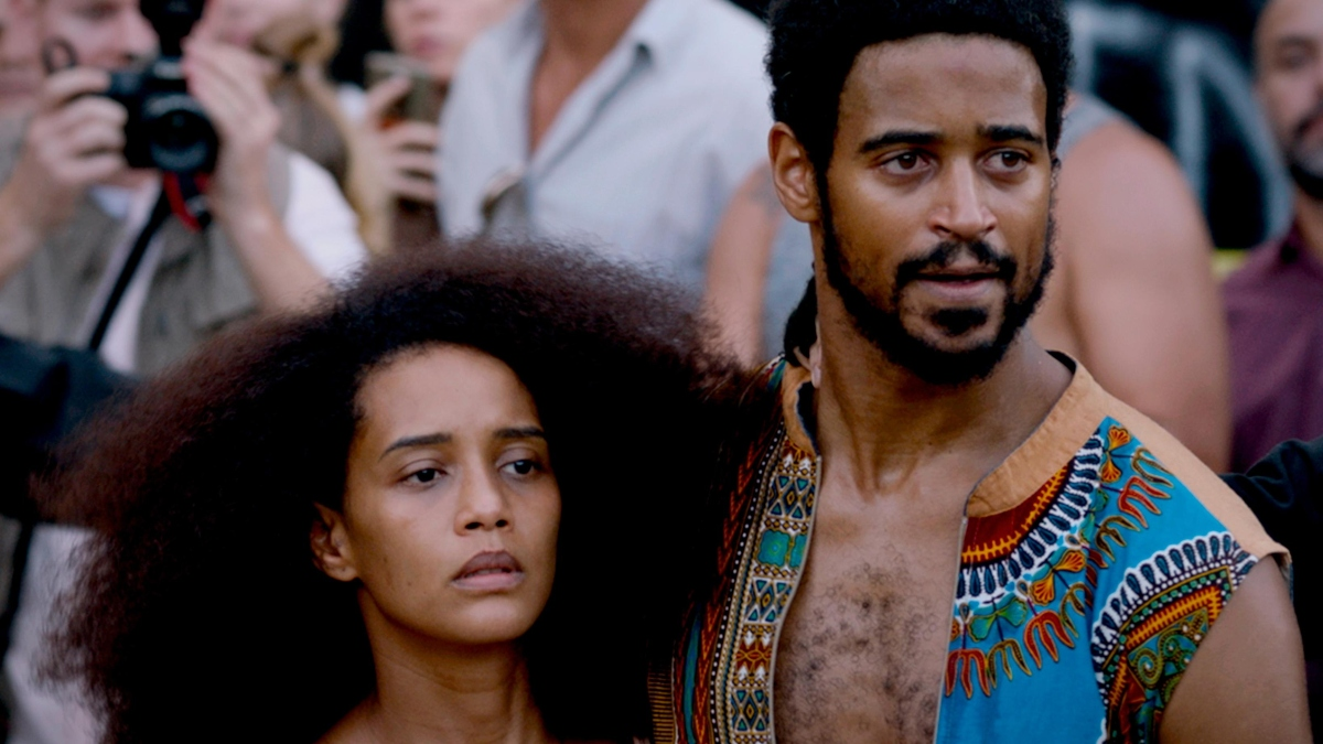 Taís Araújo and Alfred Enoch in Executive Order