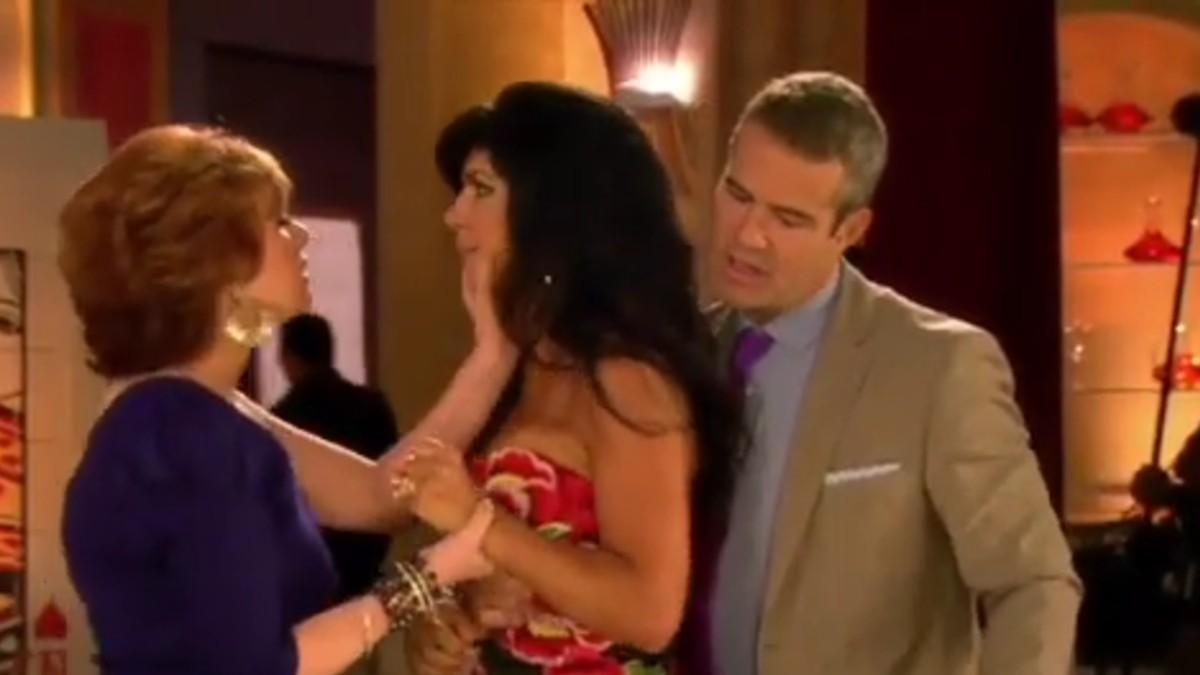Teresa at the season 2 reunion.