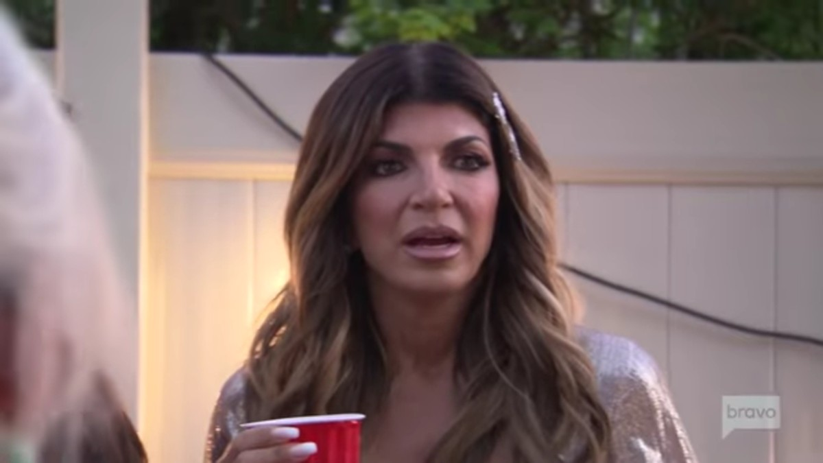 Teresa found out Danielle sold her out on RHONJ.