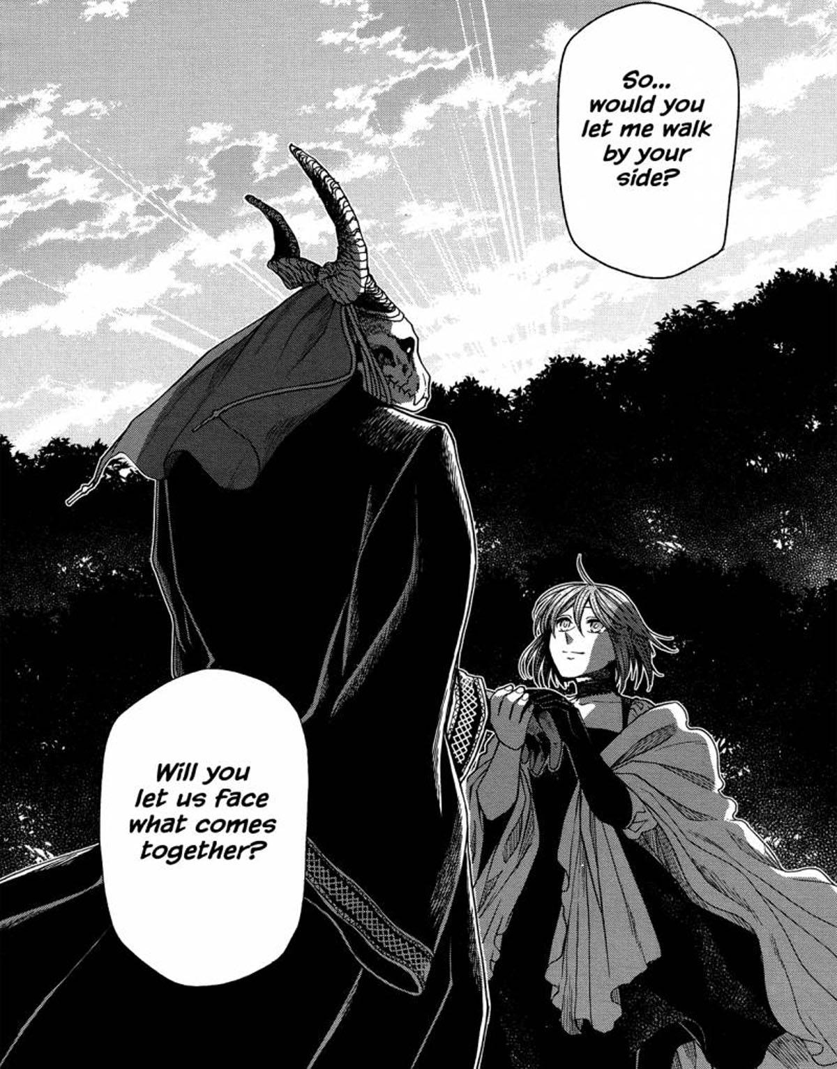 Mahoutsukai no Yome Manga 45