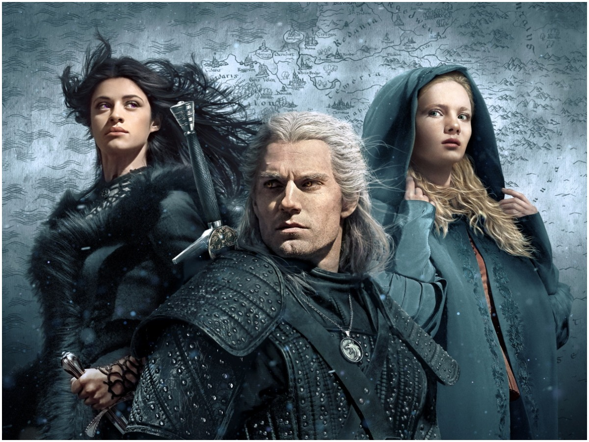 Promotional image for Season 1 of Netflix's The Witcher