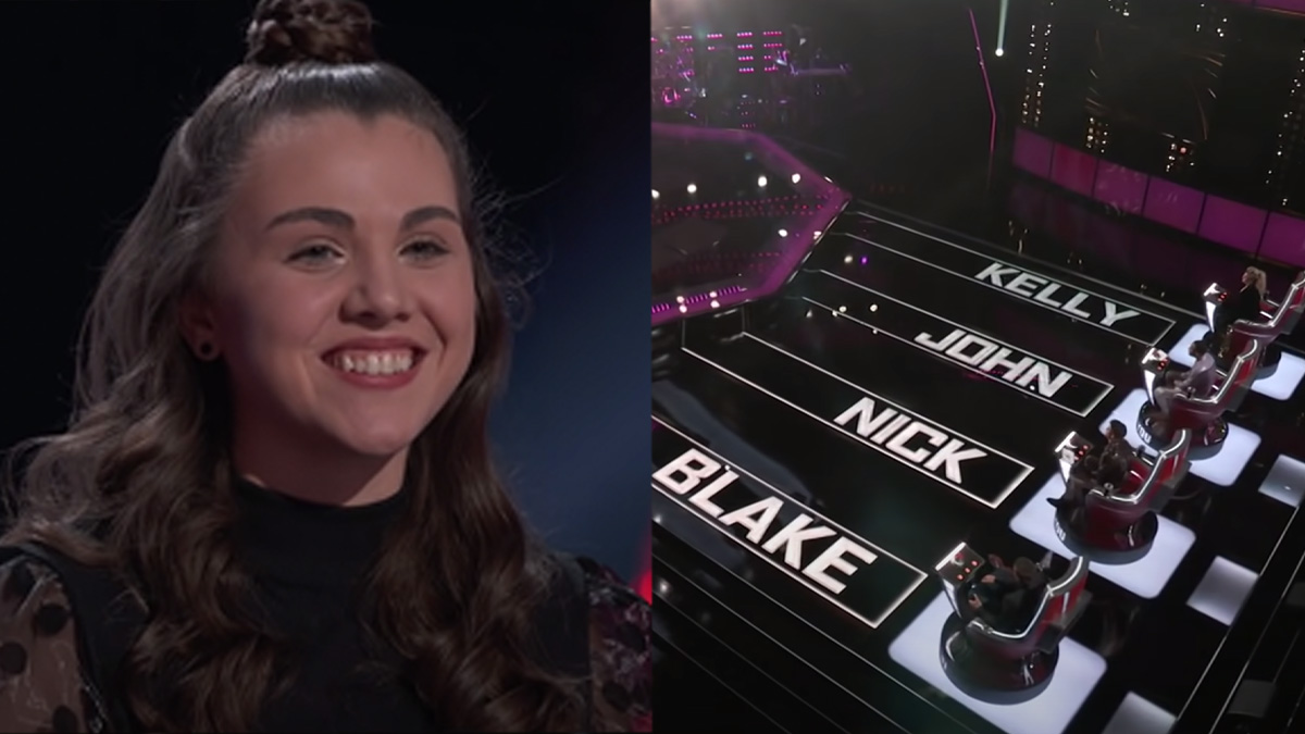 All of The Voice's judges adored Anna Grace's audition