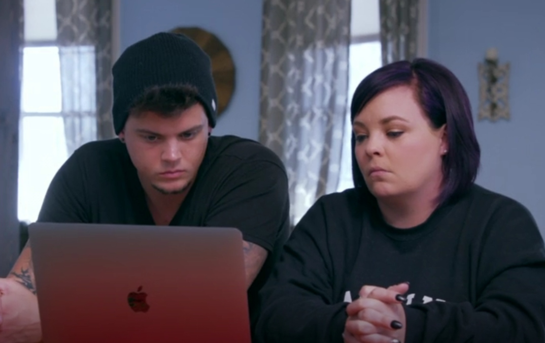 Tyler and Catelynn Baltierra of Teen Mom
