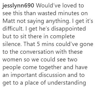 Fan commentary on Emmanuel Acho's Instagram post.