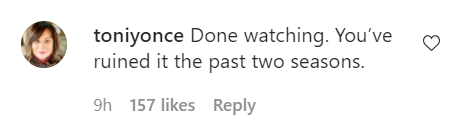 Fans of The Bachelorette comment about the new season on Instagram.