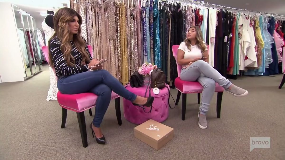 RHONJ star Teresa Giudice says it wasn't smart for Jackie Goldschneider to bring up her daughter