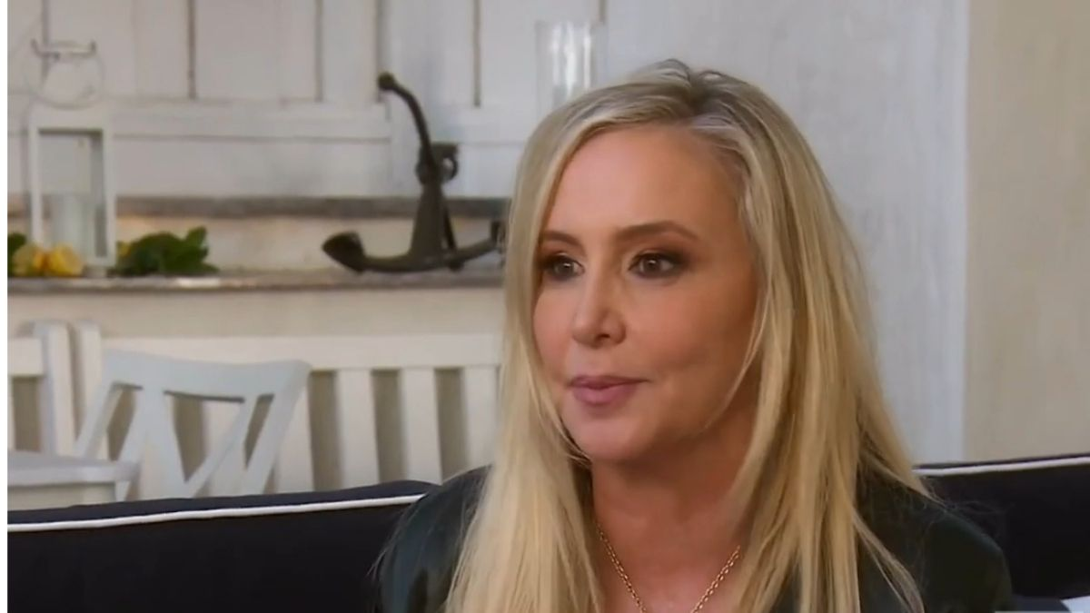 Shannon Beador during an episode of RHOC