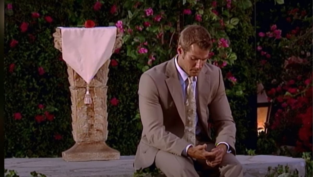 Brad Womack sitting alone
