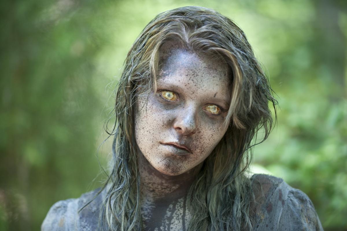 A walker that featured in Episode 7 of AMC's The Walking Dead Season 3