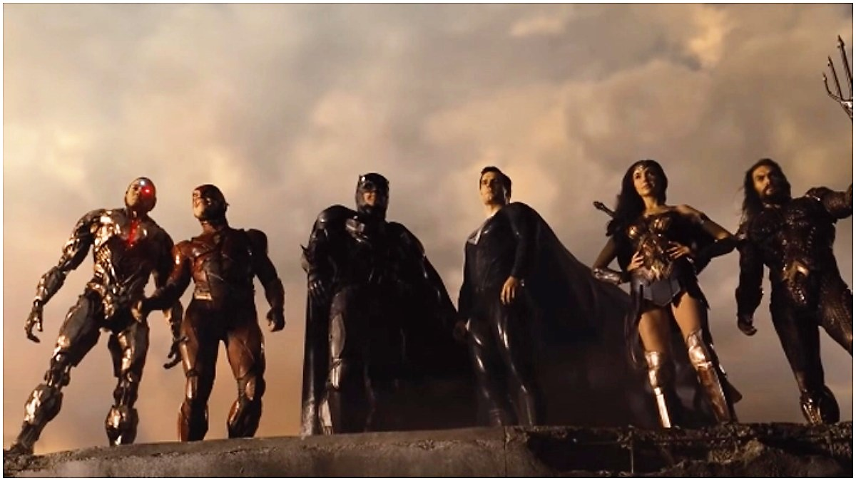 Why Zack Snyder's Justice League is not in widescreen format