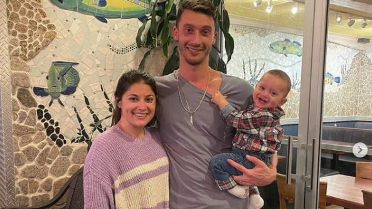 Lauren and Alex from 90 Day Fiance with their son Shai
