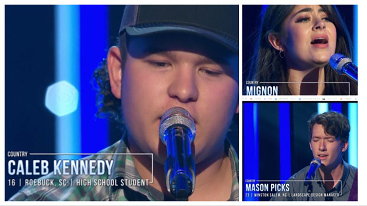 Caleb, Mason and Mignon