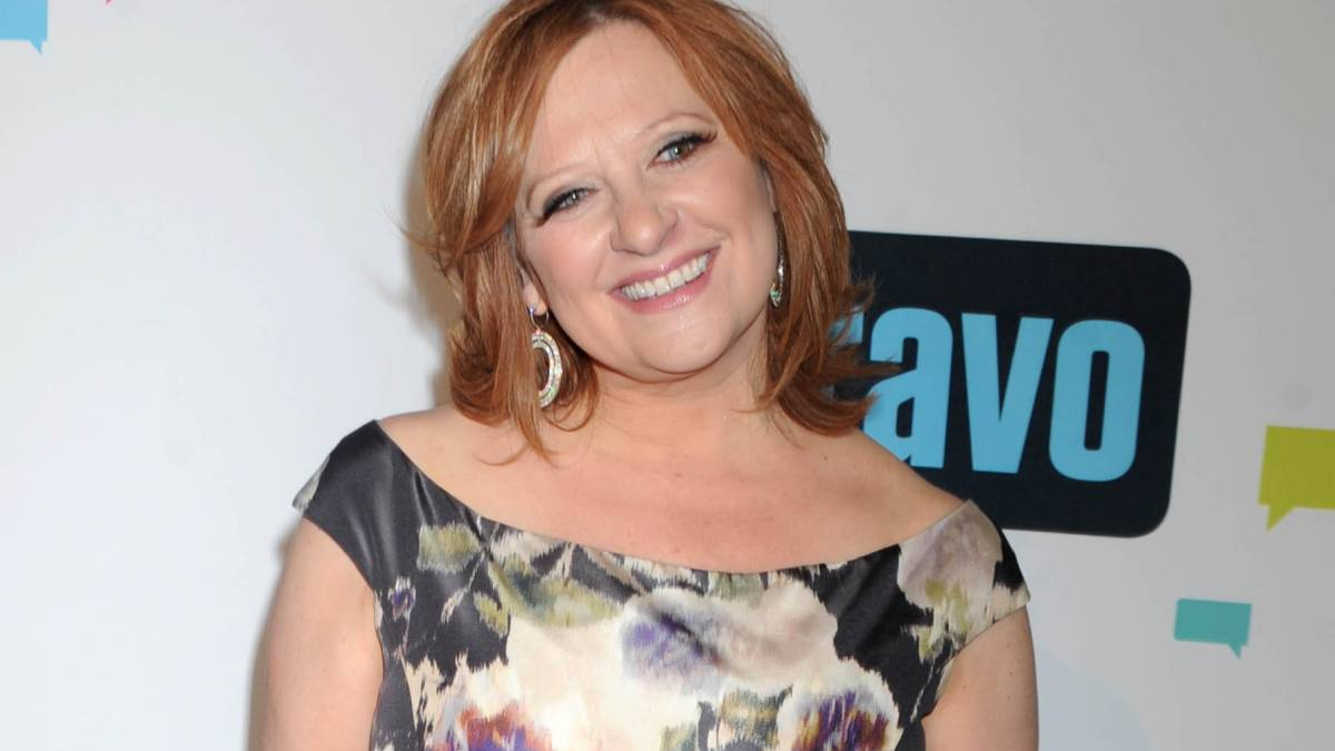 Caroline Manzo on the red carpet.