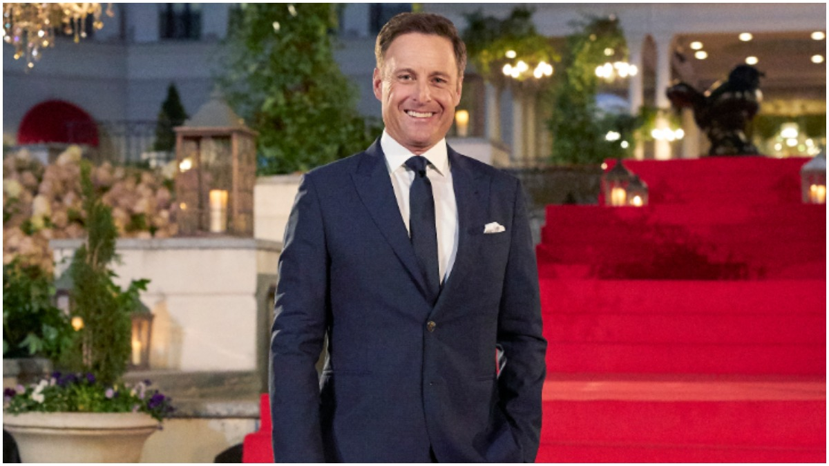 Chris Harrison appears on The Bachelor.