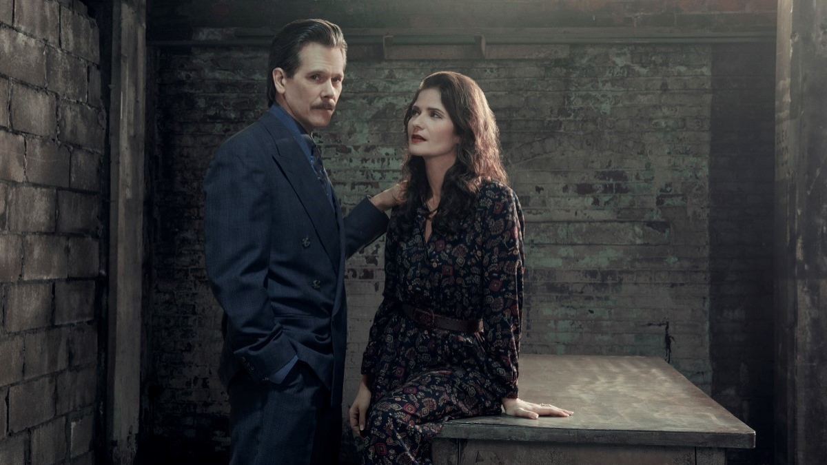 Kevin Bacon and Jill Hennessy