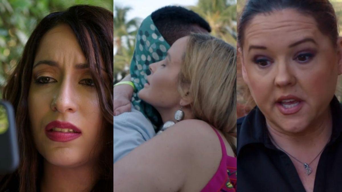 Amira, Stephanie, Harris, and Rebecca from Season 8 of 90 Day Fiance