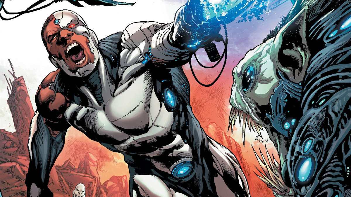 Cyborg is Justice League's most powerful comics.