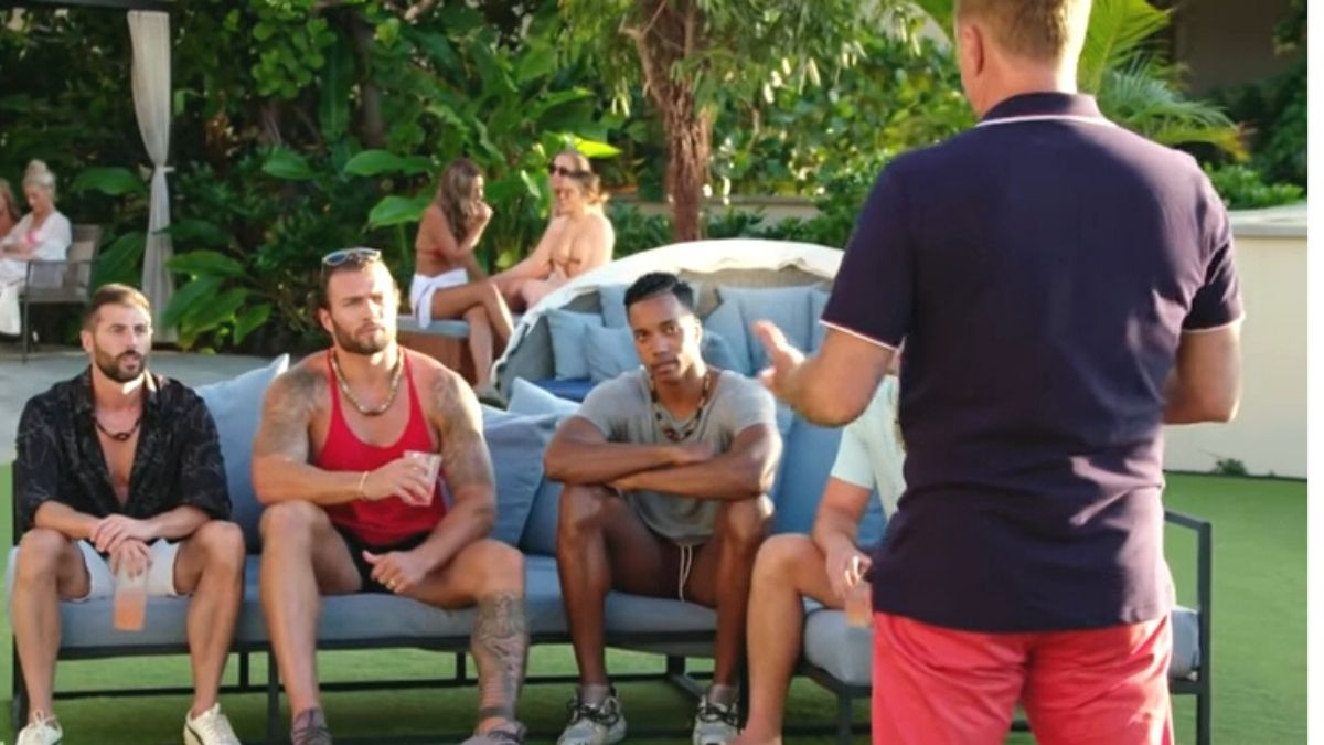 Julian, Thomas, Kendal, and Corey talk to host Mark walberg