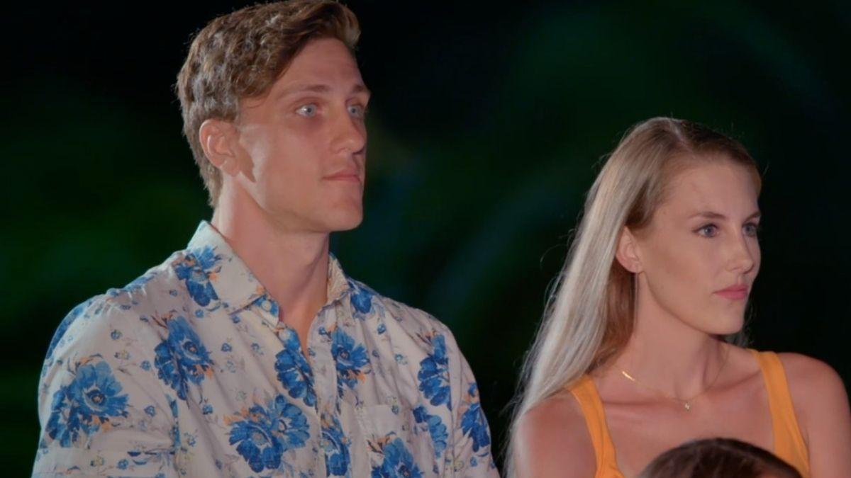 Kaci and Evan from Season 1 of Temptation Island