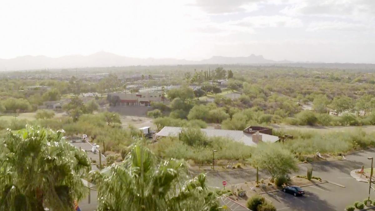 The grounds of the El Conquistador Resort.