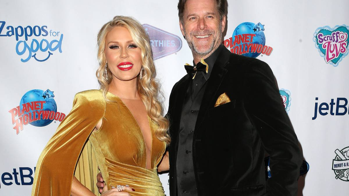 Gretchen Rossi and Slade Smiley on the red carpet