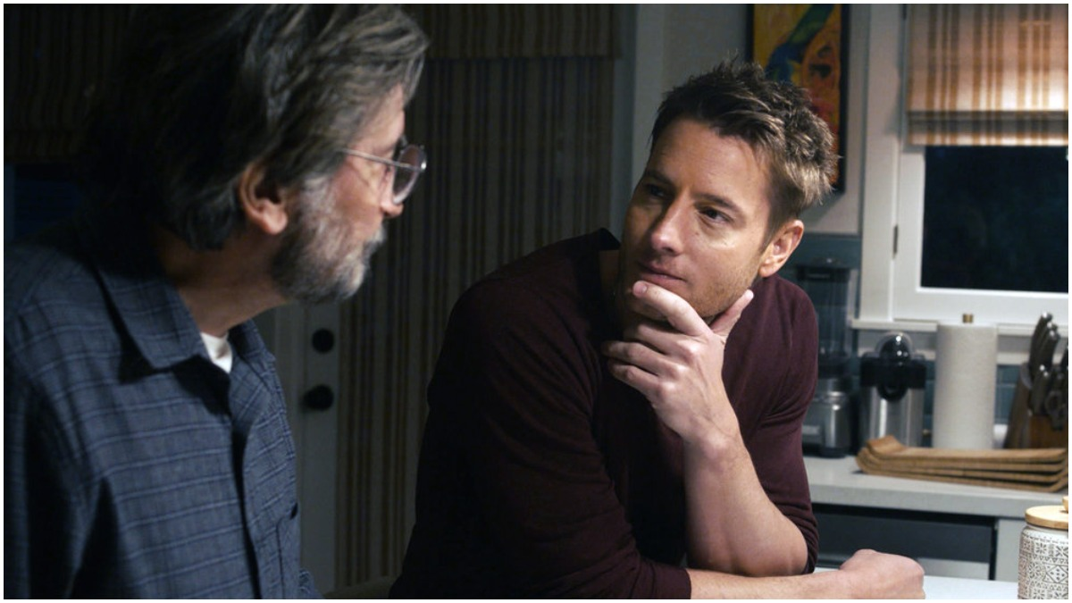 Griffin Dunne and Justin Hartley star on This Is Us.