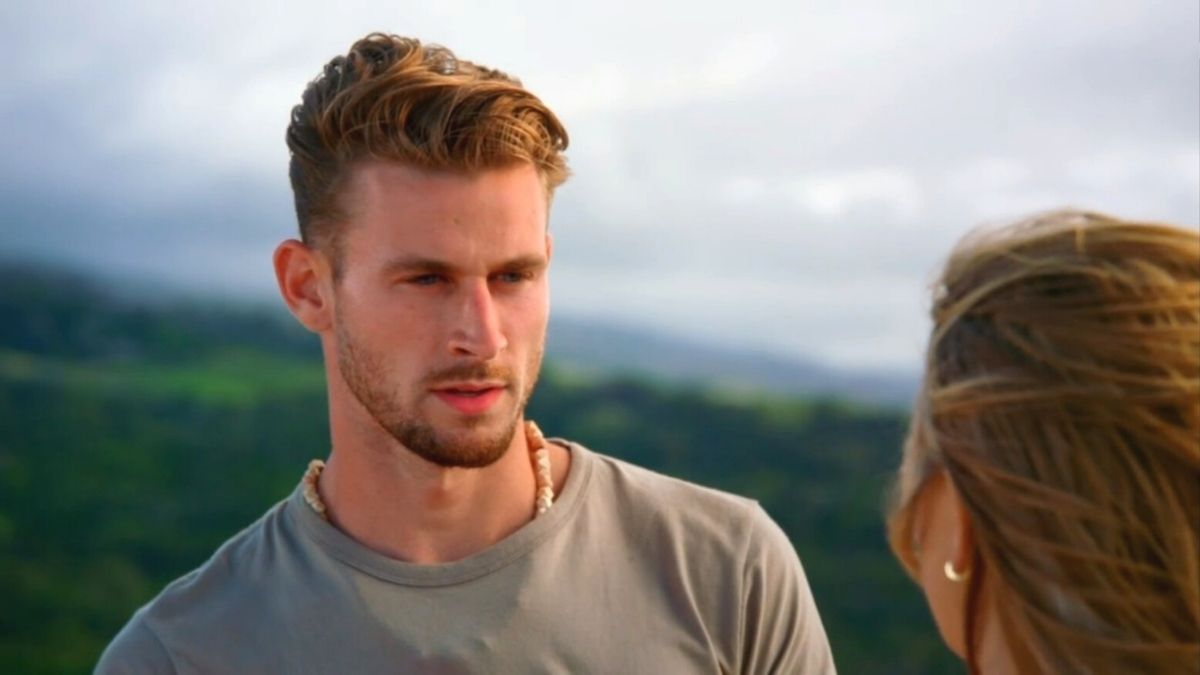 Griffin Libhart and Erin Smith from Season 3 of Temptation Island