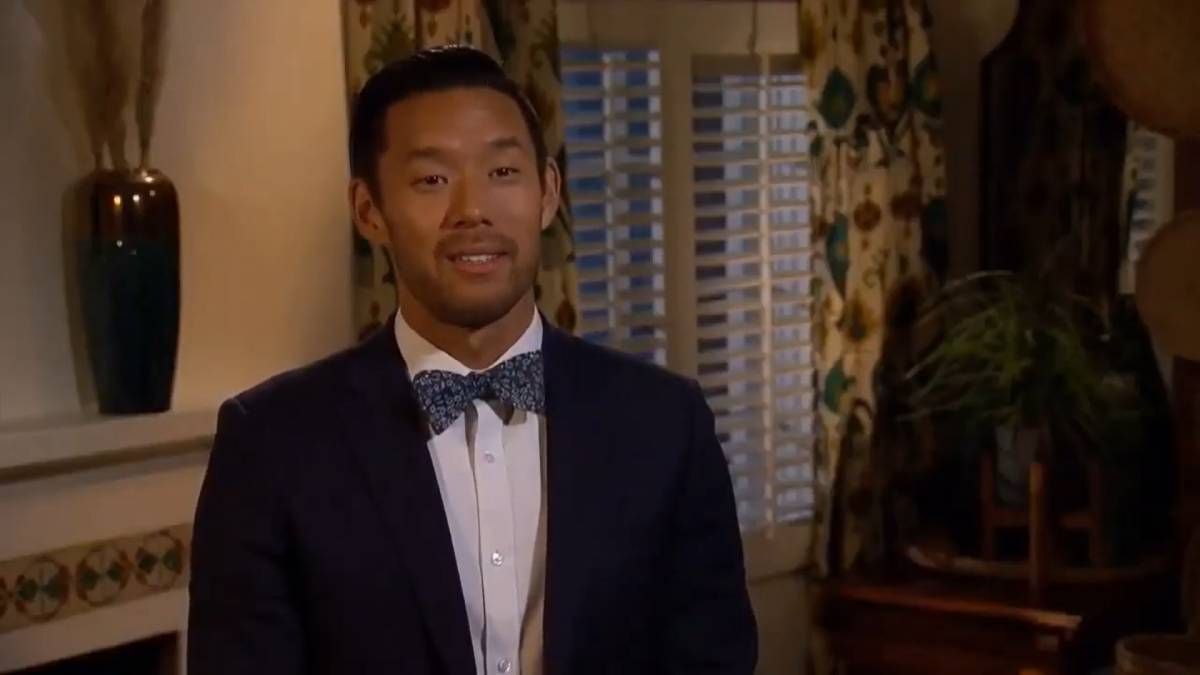 Joe Park films for The Bachelorette