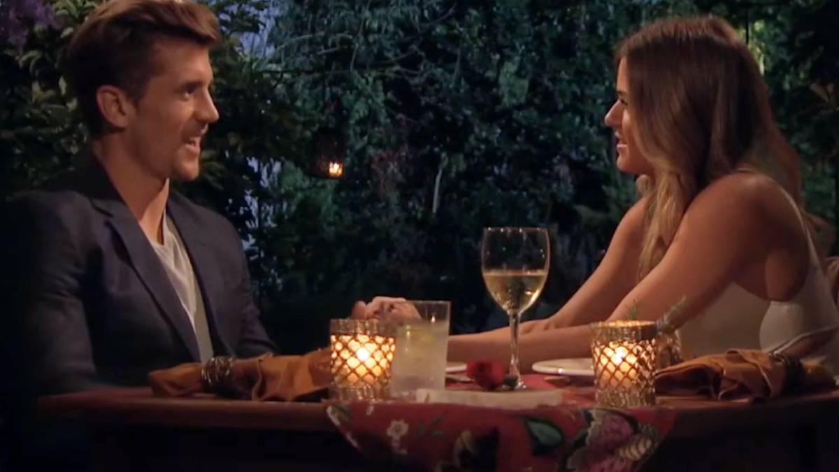 Jojo Fletcher and Jordan Rodgers film for The Bachelorette