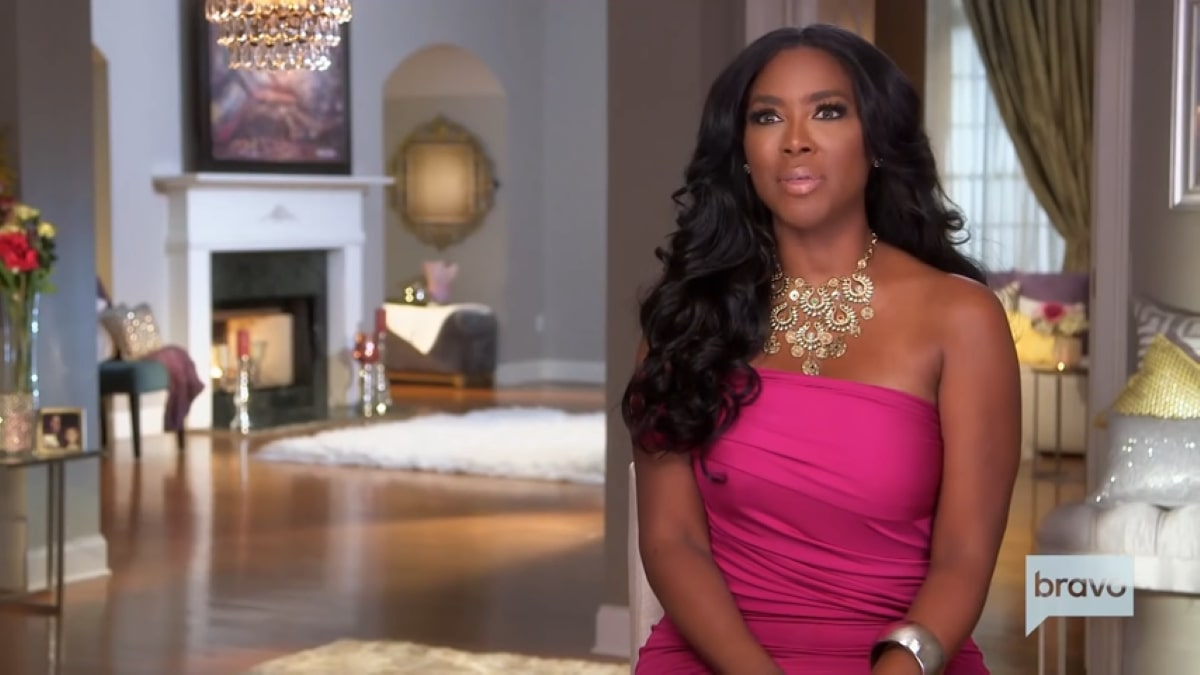 Kenya Moore virtually films for the RHOA After Show