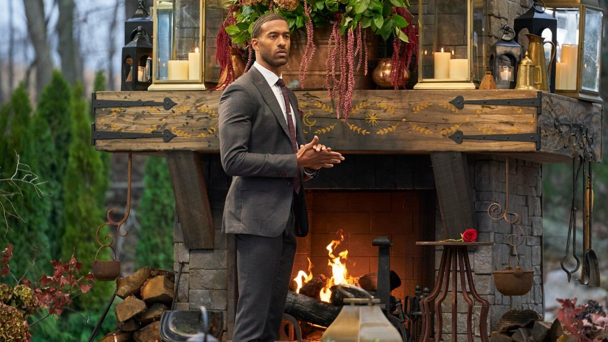 Matt James stars on Season 25 of The Bachelor.