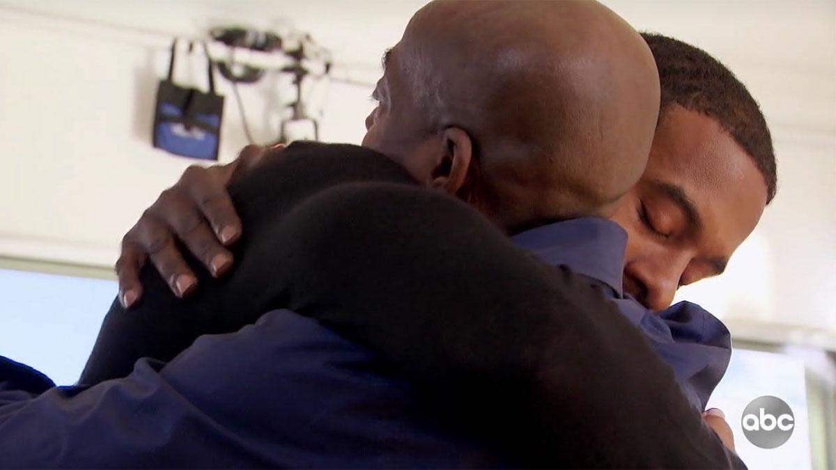 Matt-James-hugging-dad