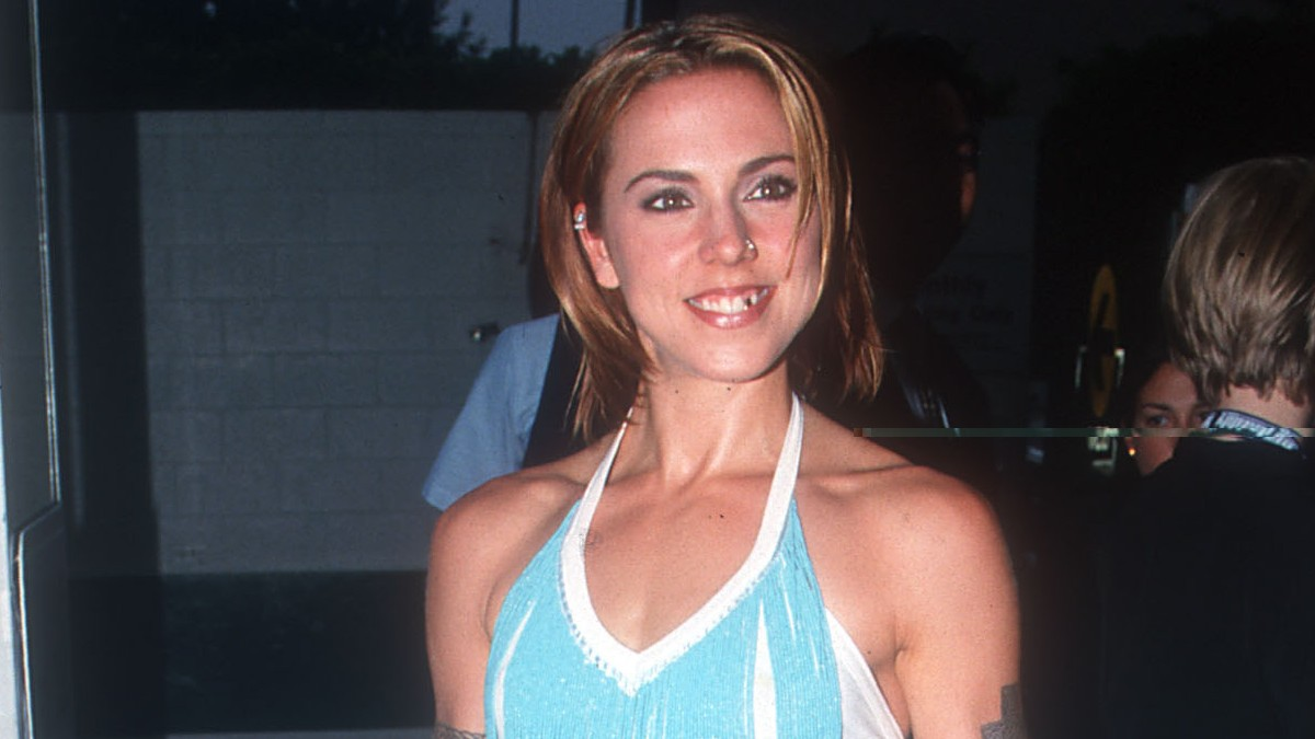 Melanie C on the red carpet