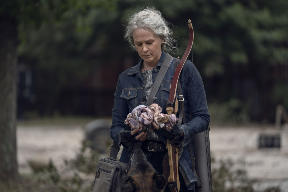 Melissa McBride stars as Carol Peletier in Episode 21 of AMC's The Walking Dead Season 10C