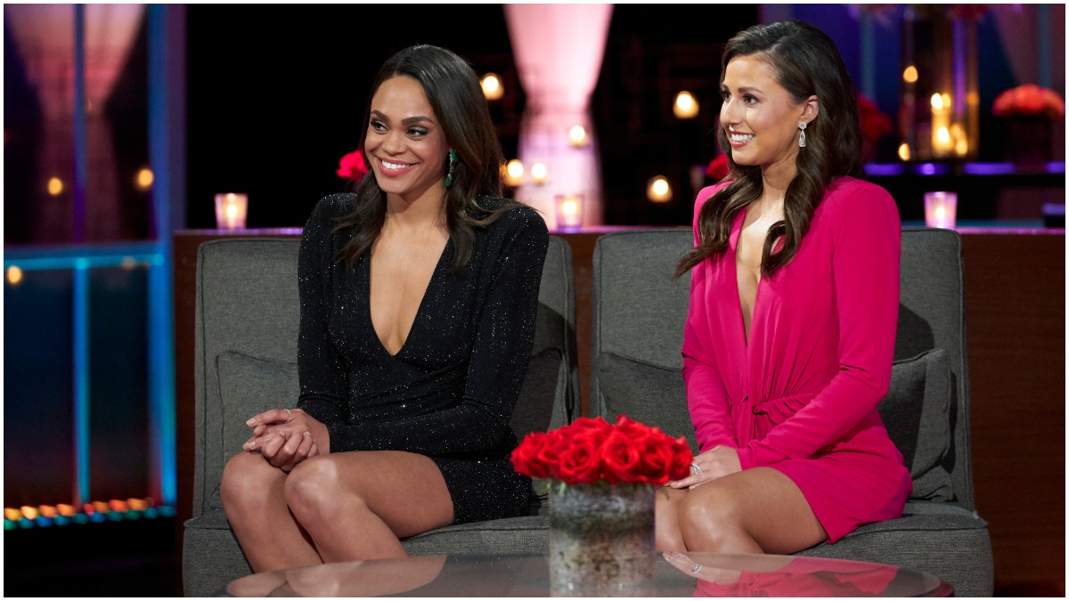Michelle Young and Katie Thurston of The Bachelorette.