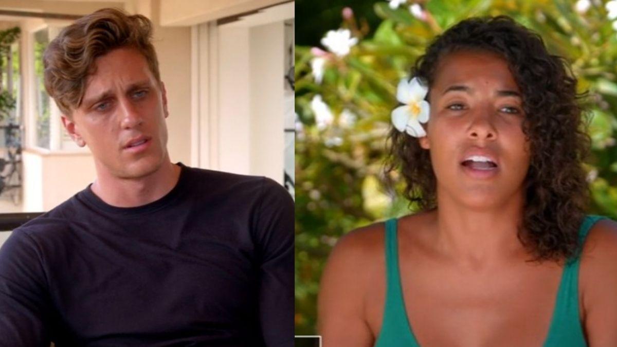Morgan and Evan from Season 1 of Temptation Island