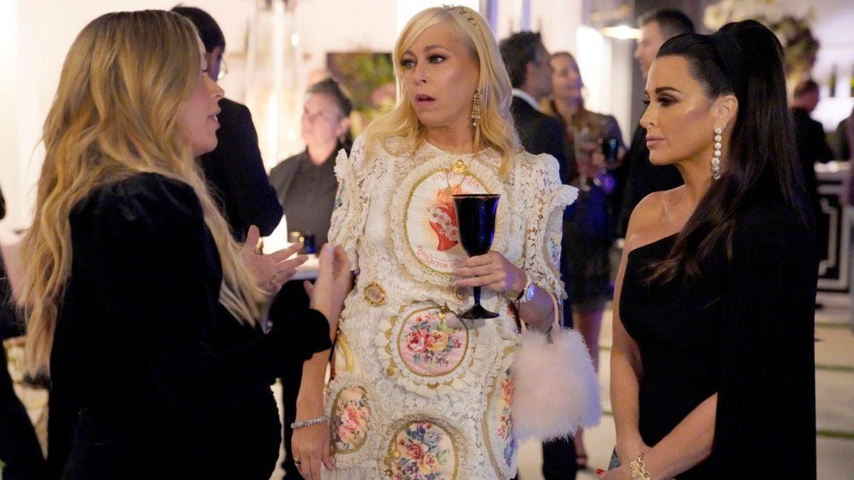 RHOBH newbie Sutton Stracke is said to be causing drama as the cast films Season 11